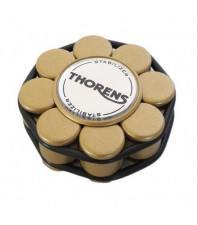 Прижим (клэмп) для пластинок Thorens Stabilizer Golden in Wooden Box