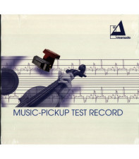Тестовая грампластинка Clearaudio Music-Pickup Test Record (LP 43033,180 g.) Germany, Mint