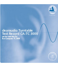 Тестовая грампластинка Clearaudio Turntable Test Record LP 83060