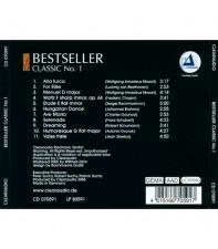 Тестовый CD-диск Clearaudio Bestseller Classic I (CD070591)