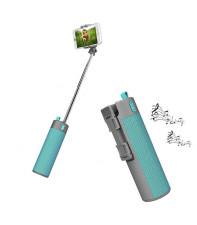 Bluetooth динамик с селфи-палкой