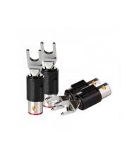 Коннектор акустический Furutech FT-211(R) High End Performance лопатка (spade)