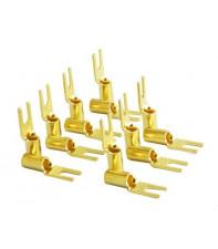 Коннекторы лопатки Furutech FP-209-10(G) набор из 20 шт