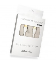 SUPRA HDMI HIGH SPEED ETHERNET WHITE 1M