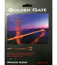 AudioQuest Golden Gate 3.5m - RCA 1м