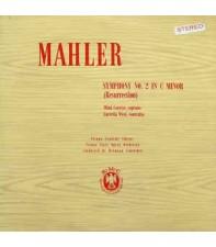 Виниловый диск LP Vienna Philharmonic Orchestra - Mahler Symphony No 2