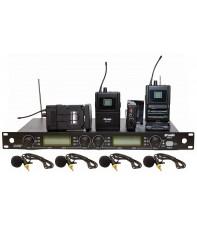 Радиосистема DV audio MGX-44B c петличными микрофонами