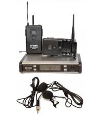 Радиосистема DV audio BGX-224 Dual с петличными микрофонами