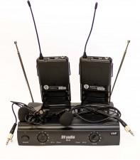 Радиосистема DV audio B-2 с петличными микрофонами