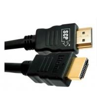 Кабель SCP 944E-6 HDMI to HDMI 1.8 м UltraHD 4K Black PVC