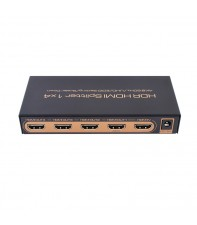 HDMI сплиттер AirBase K-SP144KEDID 1x4 4K 60Hz /UHD/EDID Setting/Scaler Down