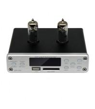 Ламповый предусилитель FX-AUDIO DP-02 Silver