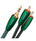 Межблочный шнур AudioQuest Evergreen 3.5мм - 2RCA 2м