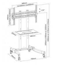 Напольная стойка iTechmount T 1030