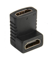 Угловой HDMI переходник MT-POWER HDMI Female to Female Adaptor
