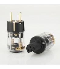 Сетевая вилка и кабельный (аппаратный) разъем силового кабеля AirBase FT-04