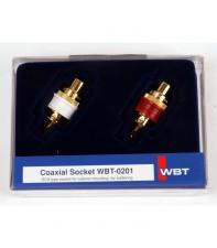 Комплект RCA разъёмов WBT-0201 KIT (2 шт)