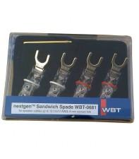 Комплект акустических лопаток WBT-0681 Ag KIT (4 шт)