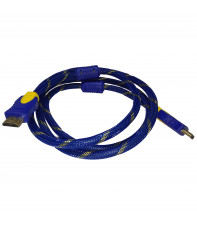 Кабель HDMI v1.4 AirBase 1.5 м Blue-Yellow (LT-H04)