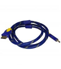 Кабель HDMI v1.4 AirBase 1.5 м Blue-Yellow (LT-H04)