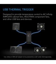 Предварительный термический триггер AC Infinity Controller 1 Black