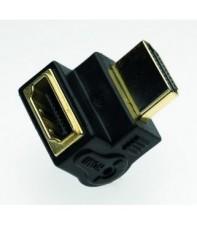 Угловой HDMI удлинитель Silent Wire Angle Jack L Form Black