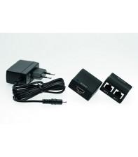 Переходник-усилитель с блоком питания Silent Wire HDMI - RJ 45 Adapter