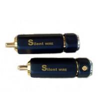 Высококачественные разъемы RCA Silent Wire RCA Stecker Serie 16 Au SW