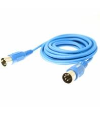 MIDI кабель Reloop MIDI cable 1.5 m Blue