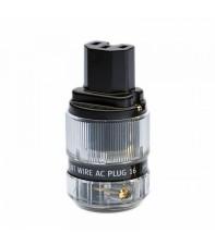 Силовой разъем Silent Wire AC Plug 16, мама, gold
