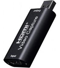 Устройство видеозахвата AirBase HD-VC20 HDMI TO USB 2.0 Video capture Black