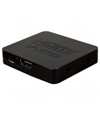 HDMI сплитер AirBase HD-SP2P HDMI Splitter 1x2 plastic Black