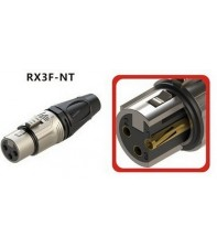 Разъем ROXTONE RX3F-NT XLR 3-pin female