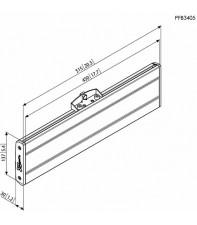 Адаптер Vogel's Prof для LCD горизонтальный элемент PFB3405 Silver