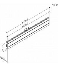 Адаптер Vogel's Prof для LCD горизонтальный элемент PFB3409 Silver