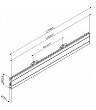 Адаптер Vogel's Prof для LCD горизонтальный элемент PFB3411 Silver