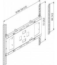 Универсальный адаптер Vogel's Prof для PLASMA/LCD FAU3150 Silver