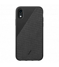 Чехол Native Union Clic Canvas Black for iPhone XR (CCAV-BLK-NP18M)