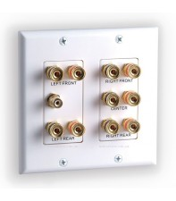 Акустическая розетка MT-Power 5.1 Surround Sound Distribution Wall Plate