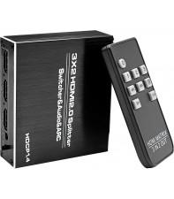 3x2 HDMI сплиттер AirBase OZQ8