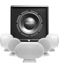 Комплект акустики TruAudio SAT3-5.1-CSUB-WT