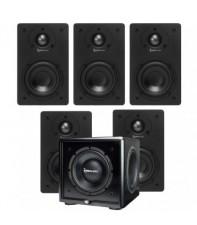 Комплект акустики TruAudio CT-4-5.1-CSUB-BK