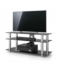 Стойка Spectral Just-Racks TV1203 Black glass