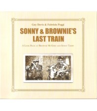 Виниловый диск LP Davis,Guy&Poggi,Fabrizio: Sonny & Brownie's Last Train