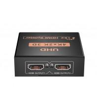 HDMI сплиттер 1X2 4Kx2K AirBase IB-4124K