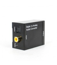 Преобразователь из оптики или коаксиал в аналоговое аудио AirBase IB-DA2