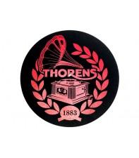 Антистатический мат из войлока: Thorens Felt mat, 300 мм, красно-черный