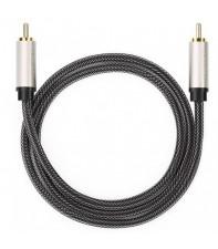 Кабель Ugreen AV133 RCA to RCA Coaxial Cable Braided, 1 м Gray 20736