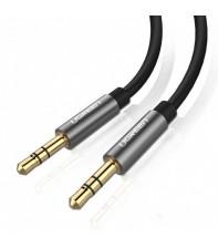 Межкомпонентный кабель Ugreen AV119 3.5 мм to 3.5 мм Audio Cable, 1.5 м Black 10734