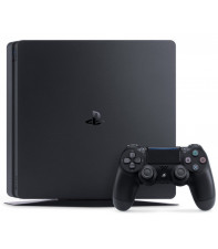 Игровая приставка SONY PlayStation 4 Slim 500 Gb Black (HZD+GOW3+UC4+PSPlus 3М)
